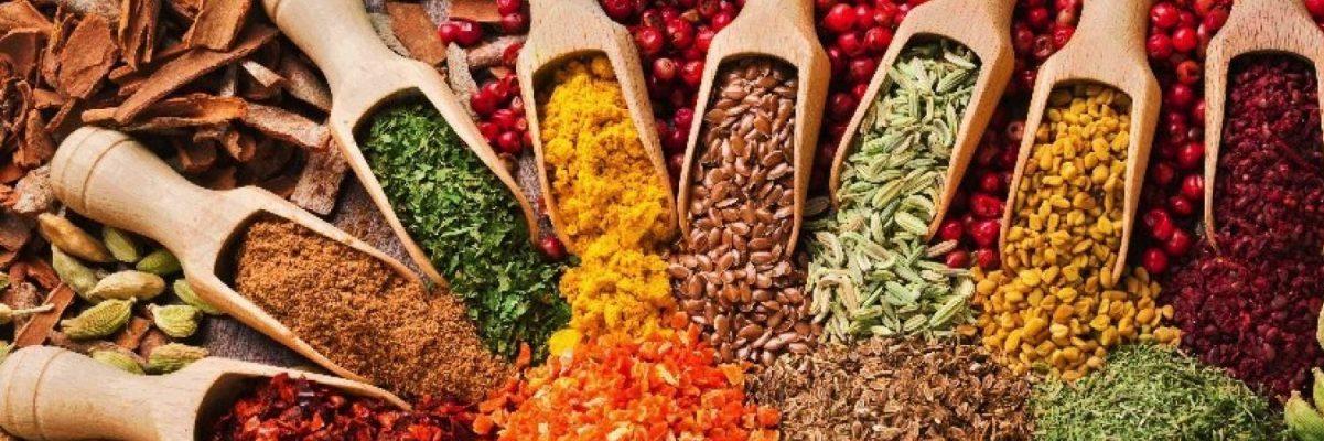 Ervas, Especiarias, Alimentação Natural e saudável, Dietoterapia, Fitoterapia